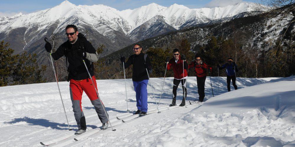 Esquí nórdico en buena compañía en Virós Vallferrera / Tot Nòrdic