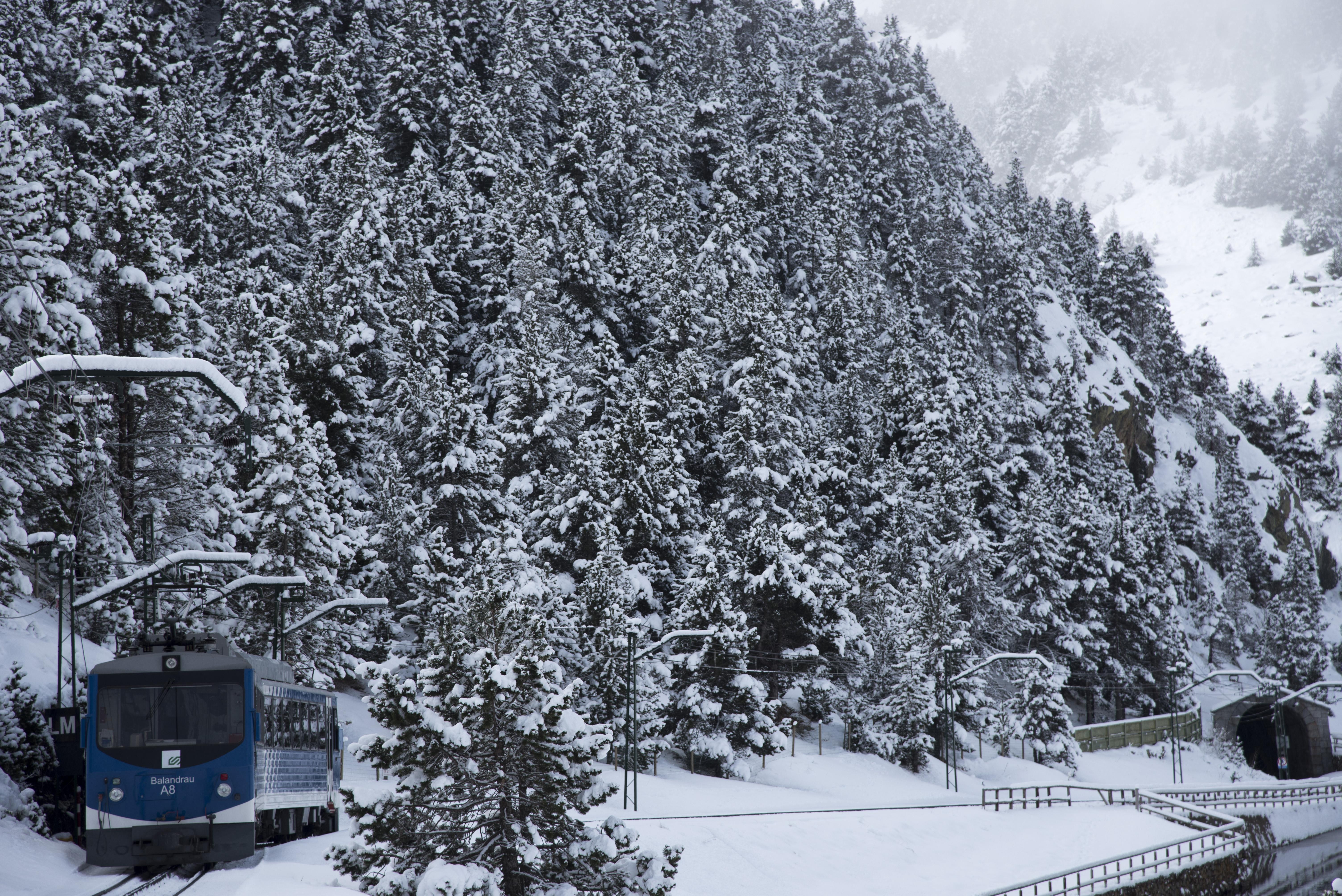 Tren Cremallera de Núria/FGC