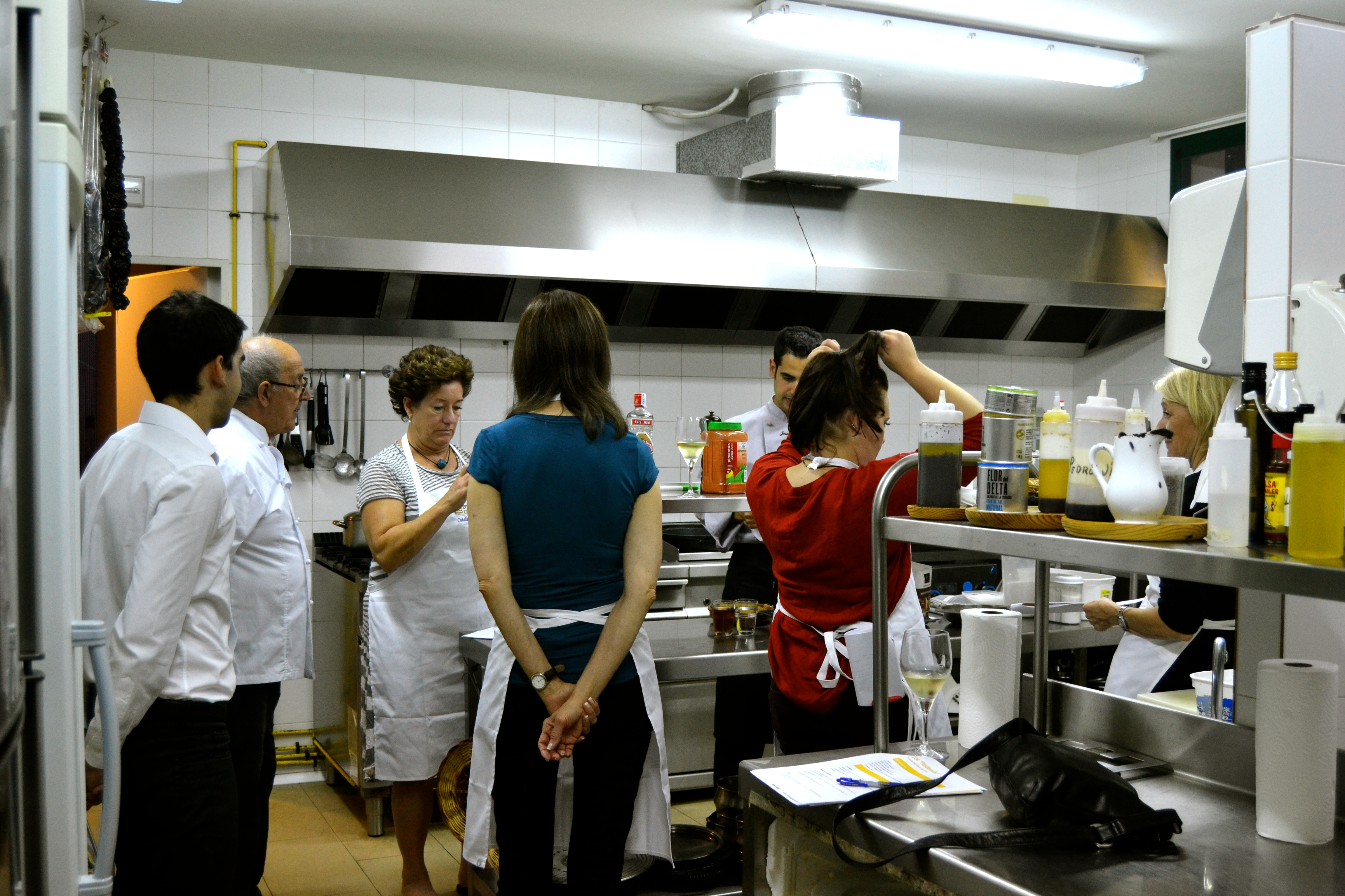 Taller per aprendre a cuinar l'arròs / Hotel l'Algadir del Delta