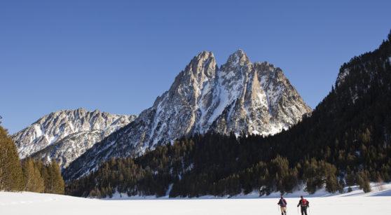 Tres rutes blanques amb raquetes pels Pirineus de Catalunya