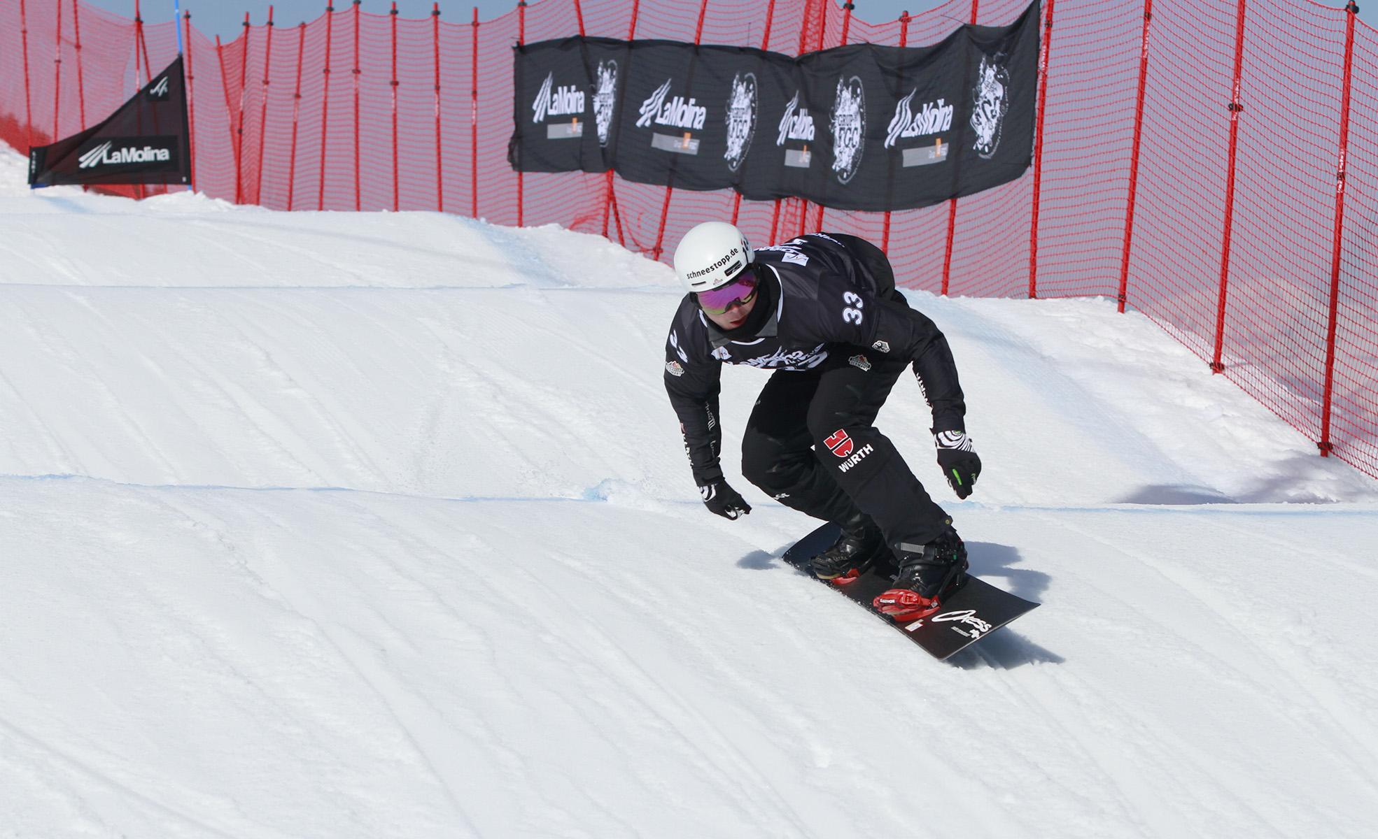 Copa del Món Snowboard SBX a La Molina / FGC