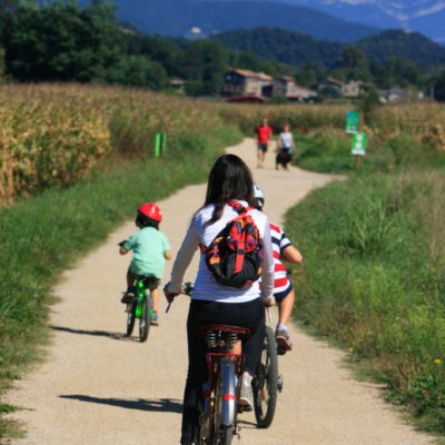 Via verda Vall d'en Bas. Pere Duran. Arxiu d'imatges P. T. Costa Brava Girona