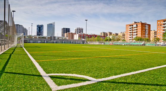 L'Hospitalet - Terrain municipal de football Santa Eulàlia (Barcelona)