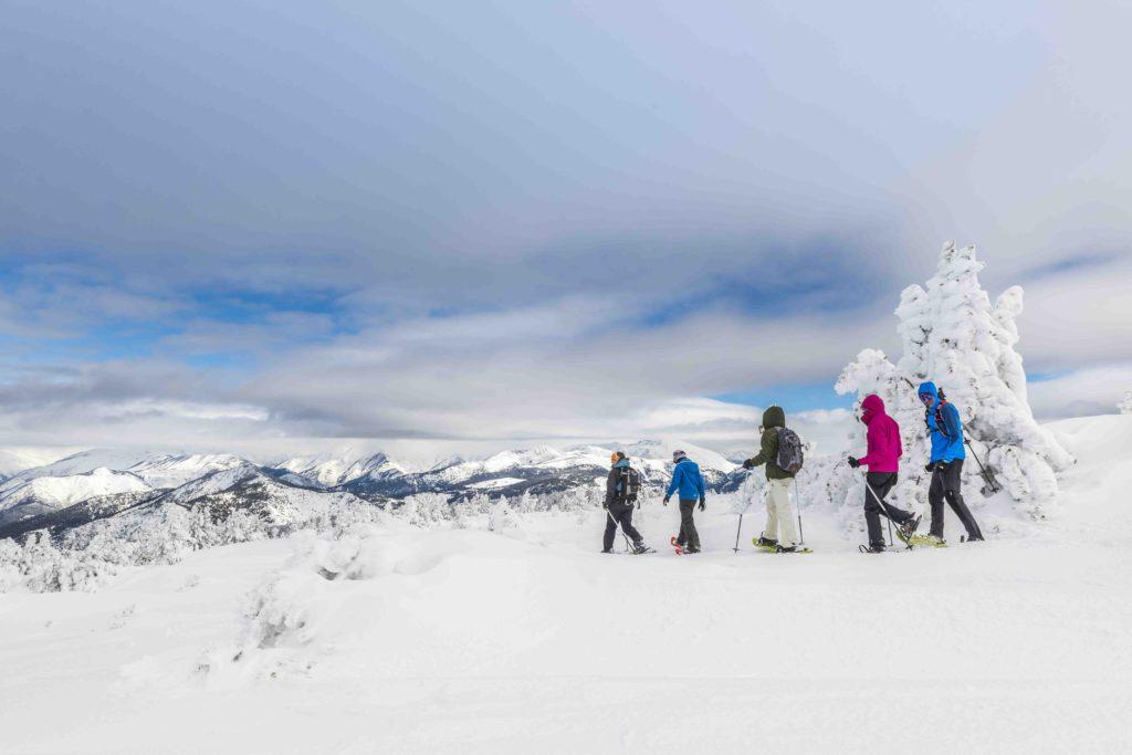 Excursions amb raquetes de neu, esport i natura en estat pur / Òscar Rodbag - Port Ainé
