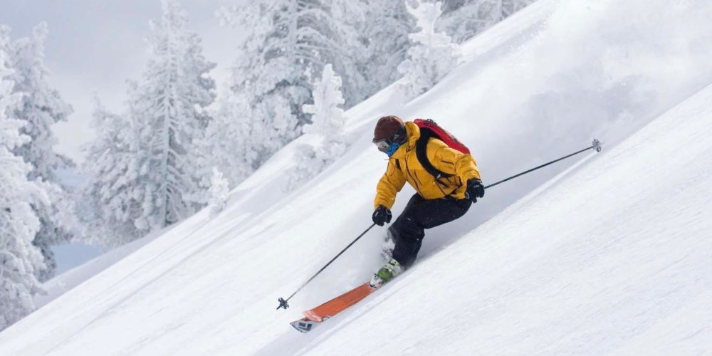 Ski descent in Tavascan