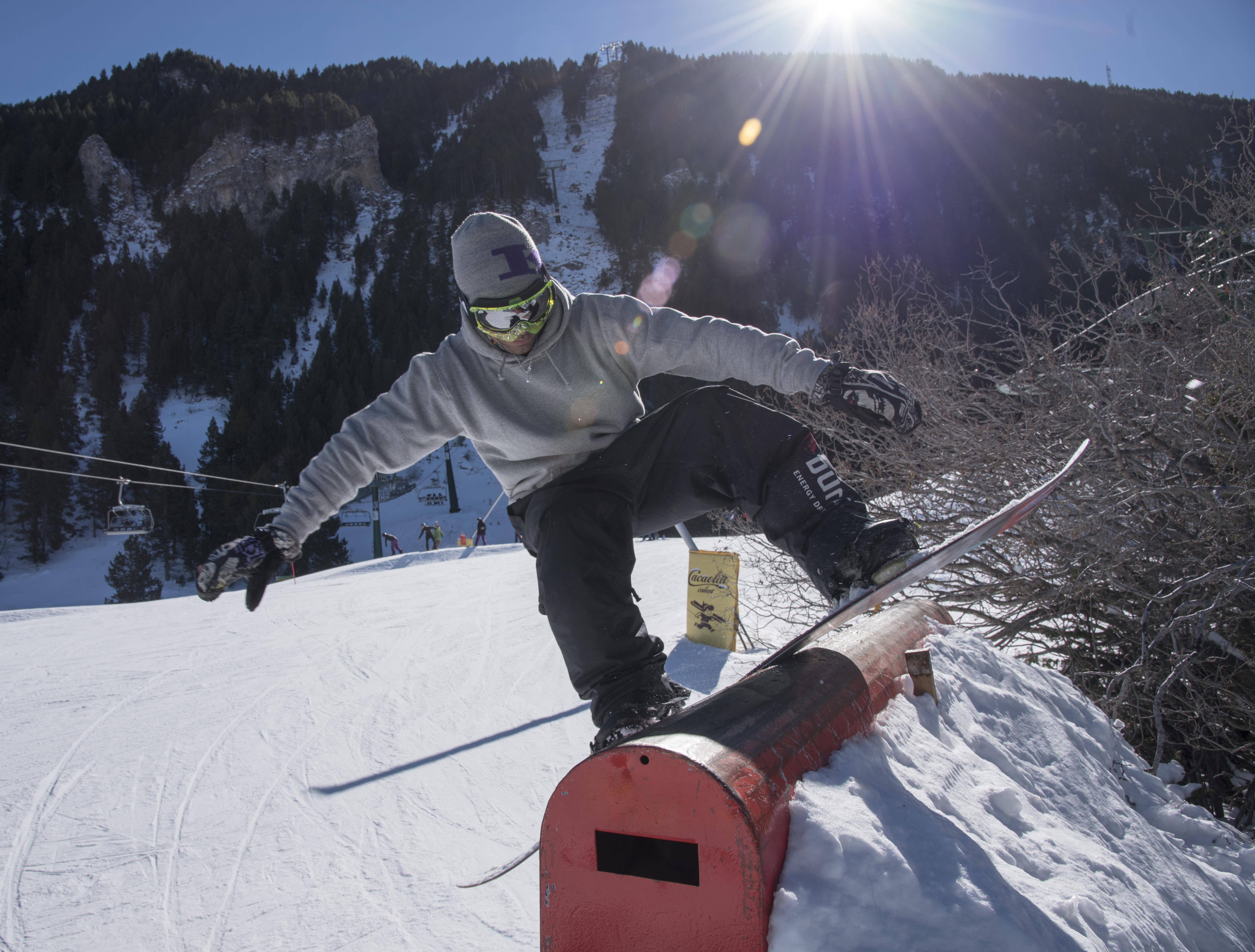 Snowpark a La Molina/FGC-La Molina