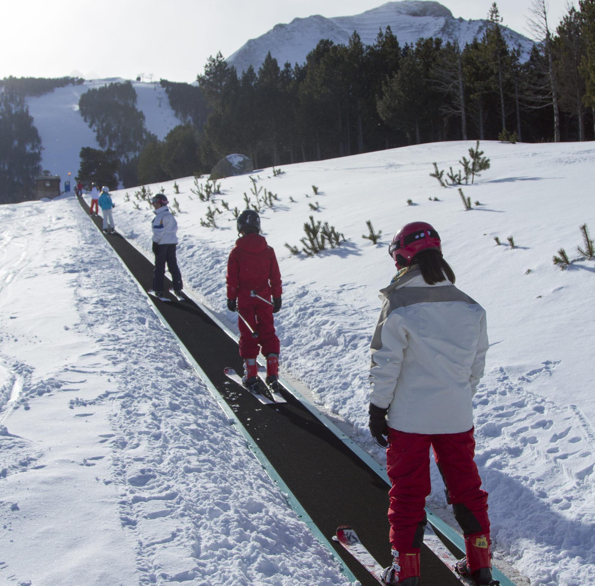 Esquiadors debutants a Espot / FGC