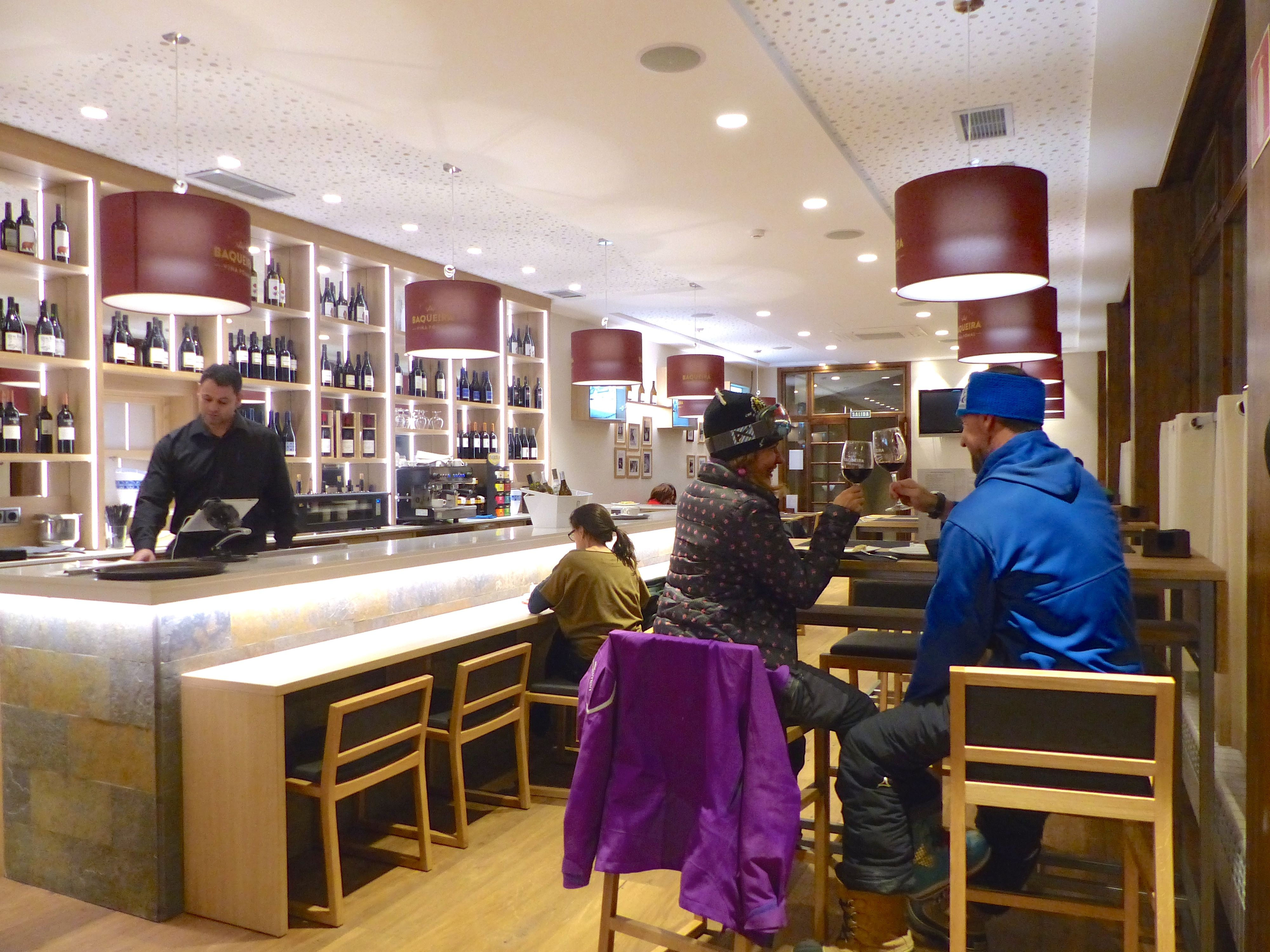 Wine Bar in Baqueira Beret. © Baqueira Beret