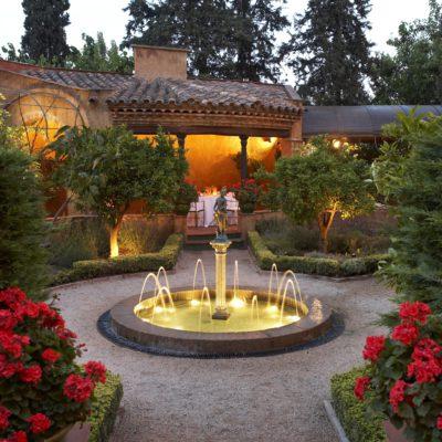 El jardí de Mas La Boella. ©Mas La Boella